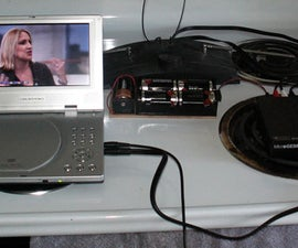 Low-cost Battery-powered portable widescreen DTV