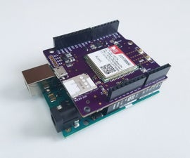LTE CAT-M + NB-IoT Shield for Arduino