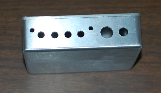 Drill Holes for the Back Connectors