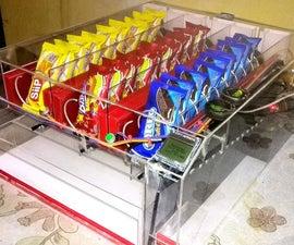 Snacks Vending Machine powered by Arduino