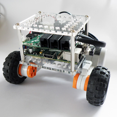 Picture of SimpleBot - a Lego Bot With Raspberry Pi at Heart