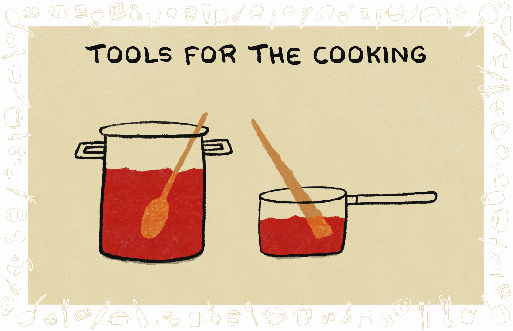 Picture of Start From Tomato Paste - Tools