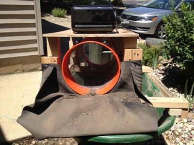 Powered Wheelbarrow Trommel