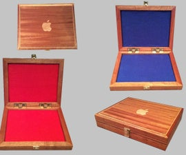 Wooden Apple IPad Protective Box