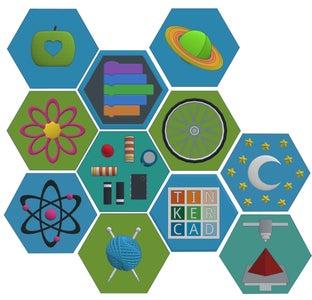Badges With Tinkercad Codeblocks