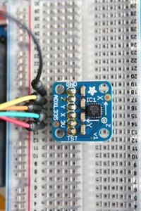 Wire the Accelerometer to the Arduino