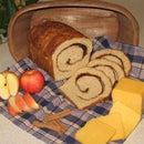 Cinnamon-Swirled Apple Cheddar Bread