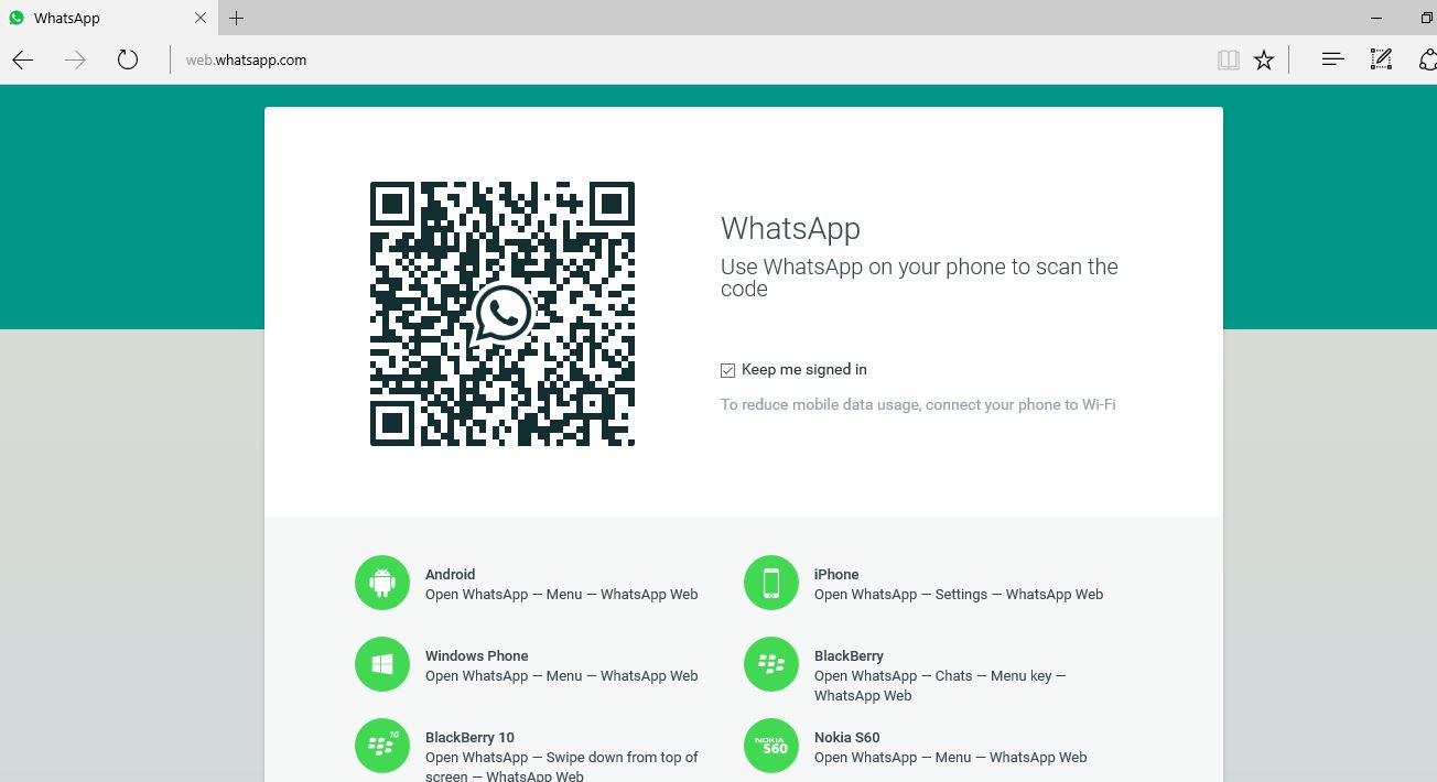 Picture of Open WhatsApp Web on Your Computer