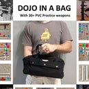 Dojo in a Bag With 30+ Training Weapons