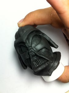How to Make a Fondant Darth Vader Star Wars Decoration for Cake or Party