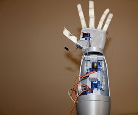 3D Printed Robotic Hand / Prosthetic Hand