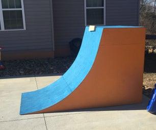 Quarter Pipe/Little Warped Wall