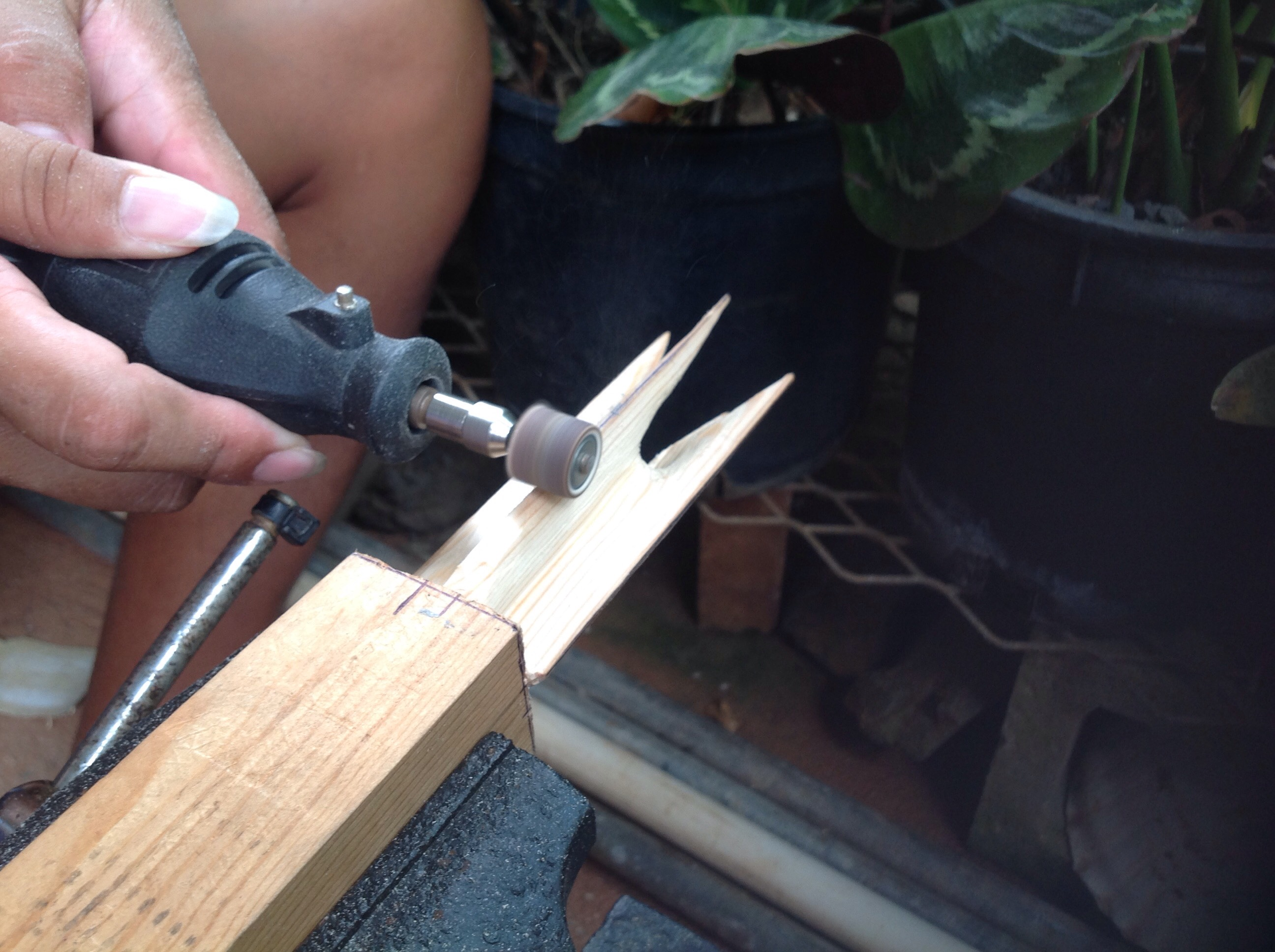 Picture of Carving the Shape