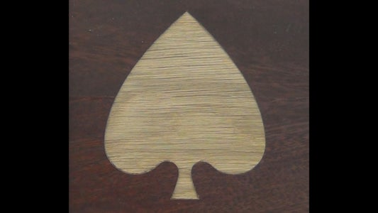 Router Inlays With a Guide Bush and Collar