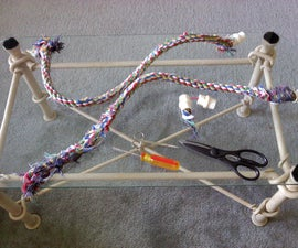 Repairing Rope Bird Perches