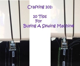 10 Tips for Buying a Sewing Machine