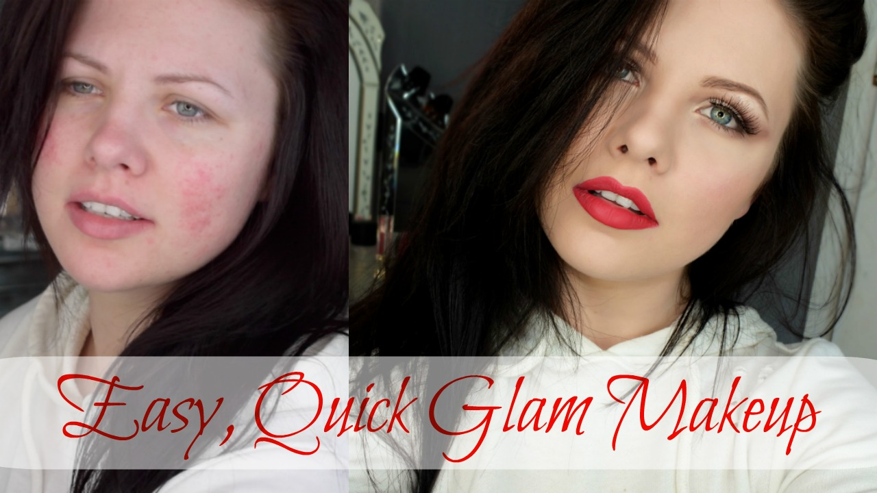 Picture of Easy, Quick Glam Makeup Tutorial