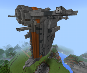 MINECRAFT: the Last Jedi - Resistance Bomber