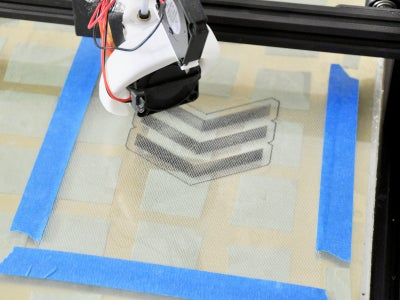 Adding Tulle During the Print
