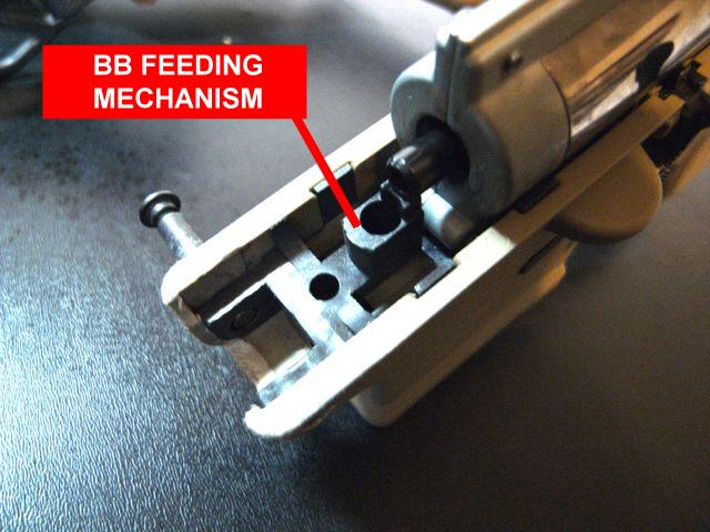 Picture of Remove Gearbox and BB Feeding Piece