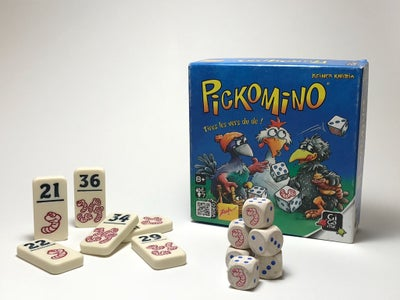 Heckmeck/Pickomino Game - Silhouette Portrait
