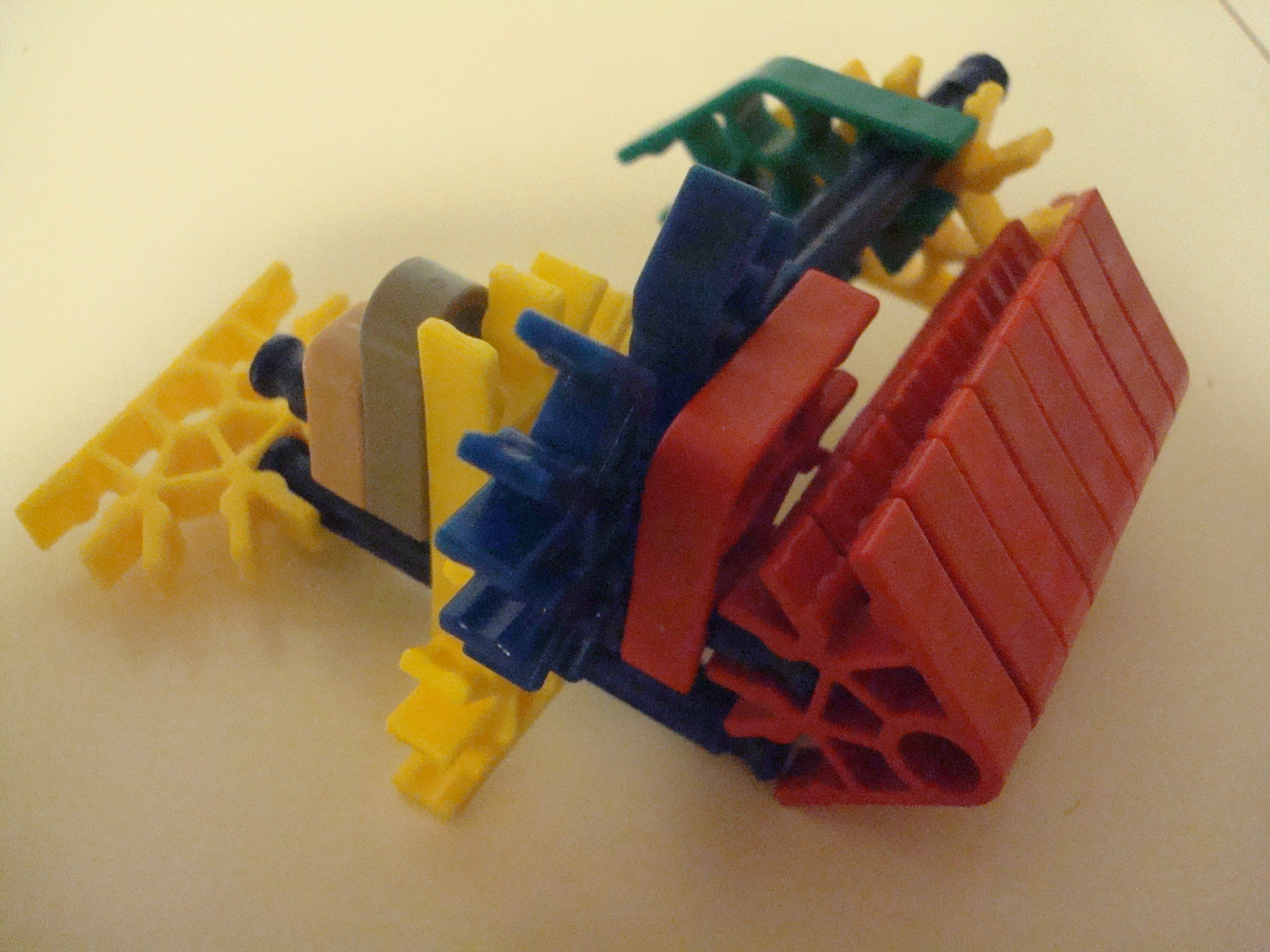 Picture of Knex POG (Push Operated Gun)