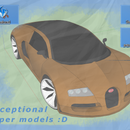 From 3D models to Paper models :D