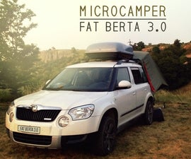 SUV MicroCamper - Fat Berta 3.0