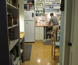 Making the most of a small kitchen : my workspace