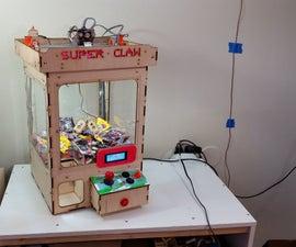 Arduino Claw Machine (Version 4)