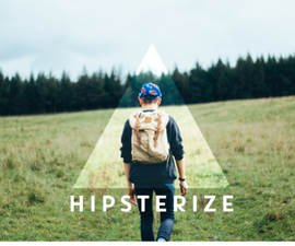 HIPSTERIZE - Beginner tutorial to clean and easy photo manipulation