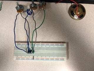 BreadBoard Speaker Circuit