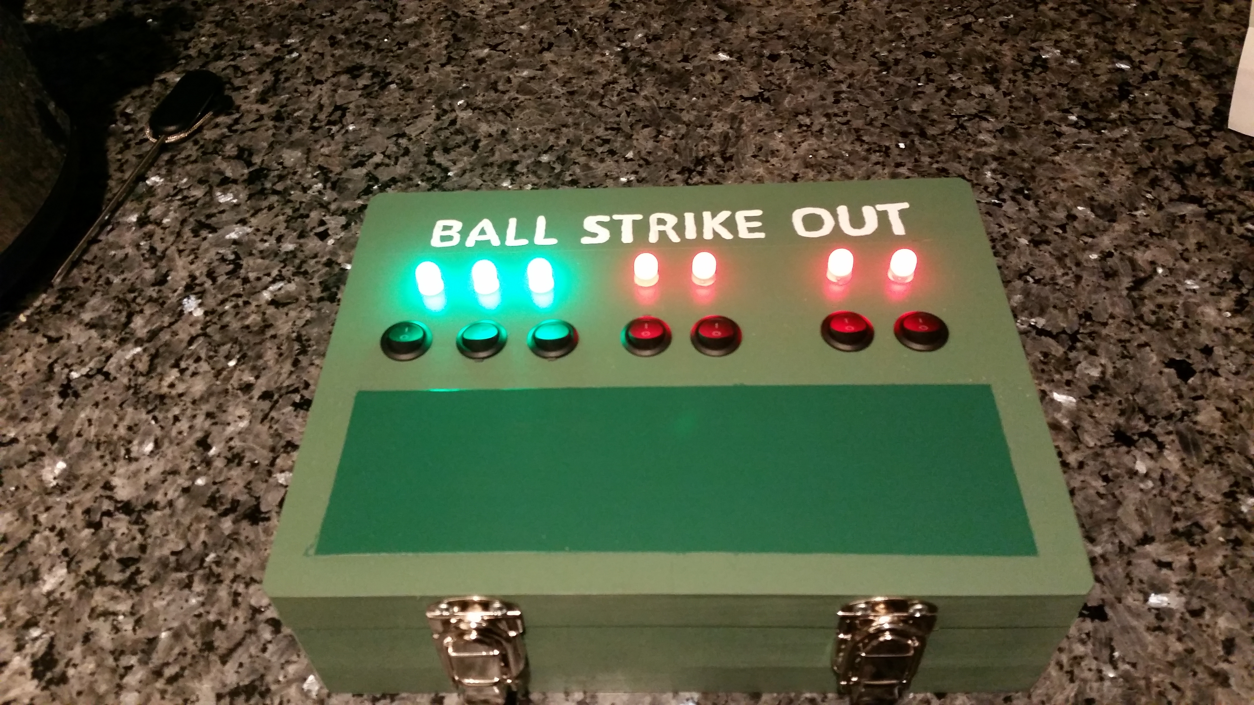 Picture of Children's LED Baseball Scoreboard Toy
