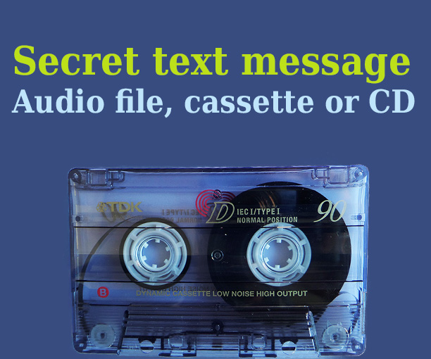 Picture of Secret Message in Audio