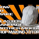 How to Make a Plaster Bandage Mother Mold (part 2)