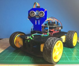 Simple multi-mode 4wd Rover JR-001