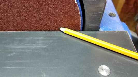 Quickly Sharpen Pencil With Sander