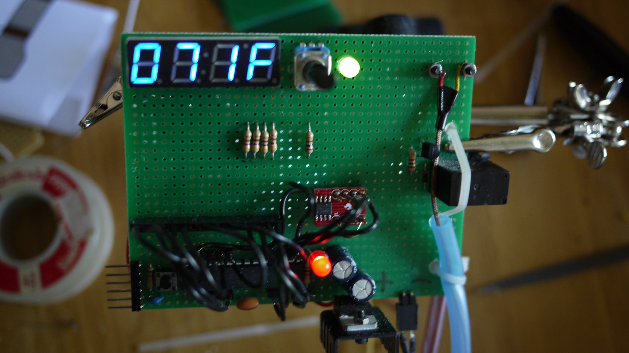 Make Your Own Programmable Thermostat For 66 With Arduino 7 Steps Delay Relay Timer Circuit Electronic Projects