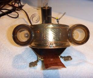 STEAM / DIESEL PUNK FROG LAMP