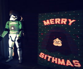 Merry Sithmas Projection