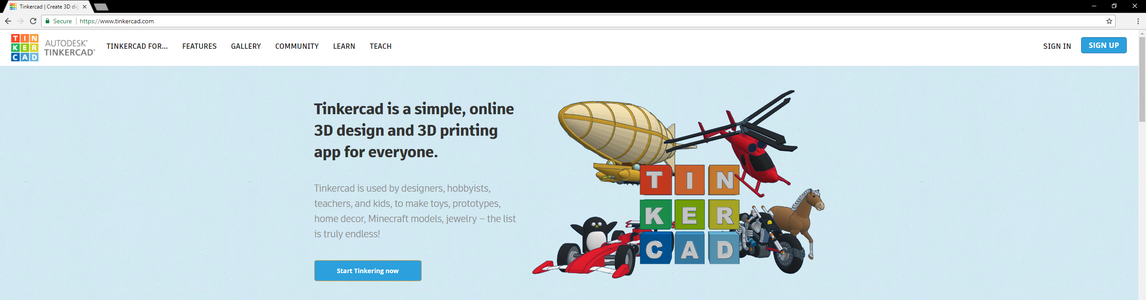 TinkerCAD: a Quick Introduction