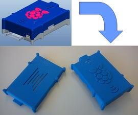Two Part Raspberry Pi Case
