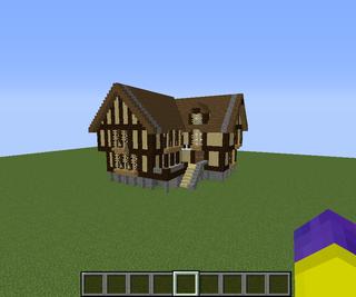 Minecraft Mideival House