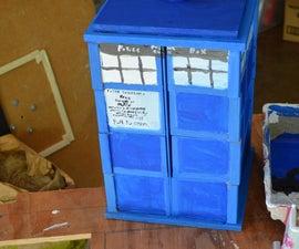 TARDIS box, made of smaller boxes!