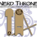 Nerd Throne: a Bog/Stargazer/Viking/Plank Camp Chair
