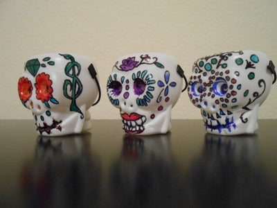 Drawing on the Skulls.