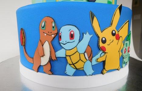 Pokemon Go Cake Assembly