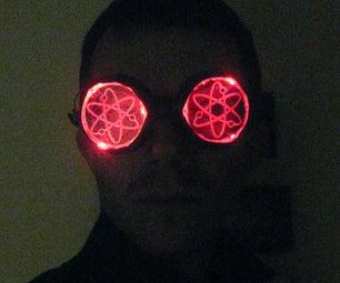 LED Atomic Goggles