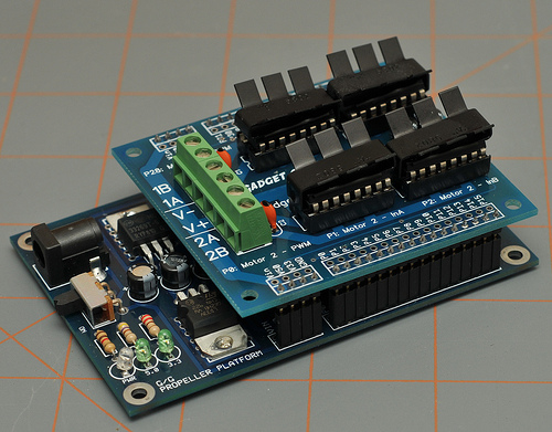 Picture of Make an 8-amp Dual Motor Controller for $40
