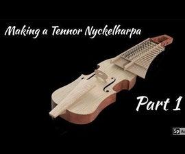 Making a Tenor Nyckelharpa